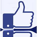 Pouce J'aime de Facebook
